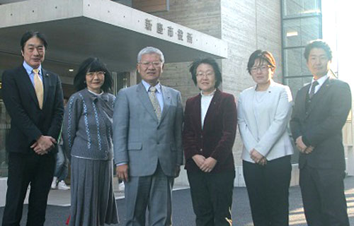 今年もがんばります!日本共産党新座市議団