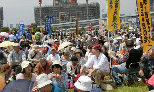 5・3 東京で憲法集会 東京有明防災公園