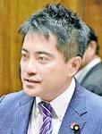 質問する辰巳議員=18日、参院決算委