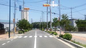 東久留米志木線に信号機設置