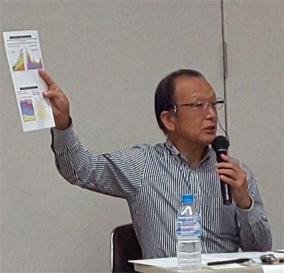 須田健治前新座市長もパネラーで出席