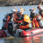 水難救助隊の訓練=朝霞地区一部事務組合HP