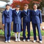 新座六中 女子制服にパンツスタイル導入(写真=市教育委員会提供)