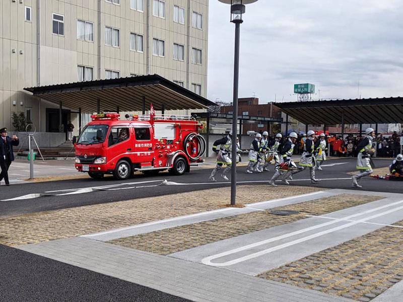 令和二年 新座市消防出初め式