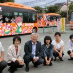 年間約38万人が利用する市内循環バス=大阪狭山市
